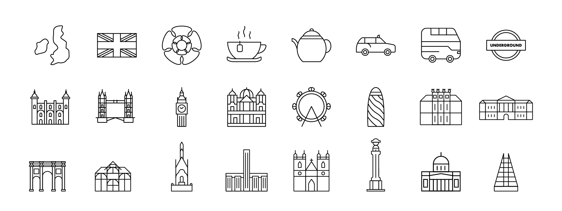 England Icons