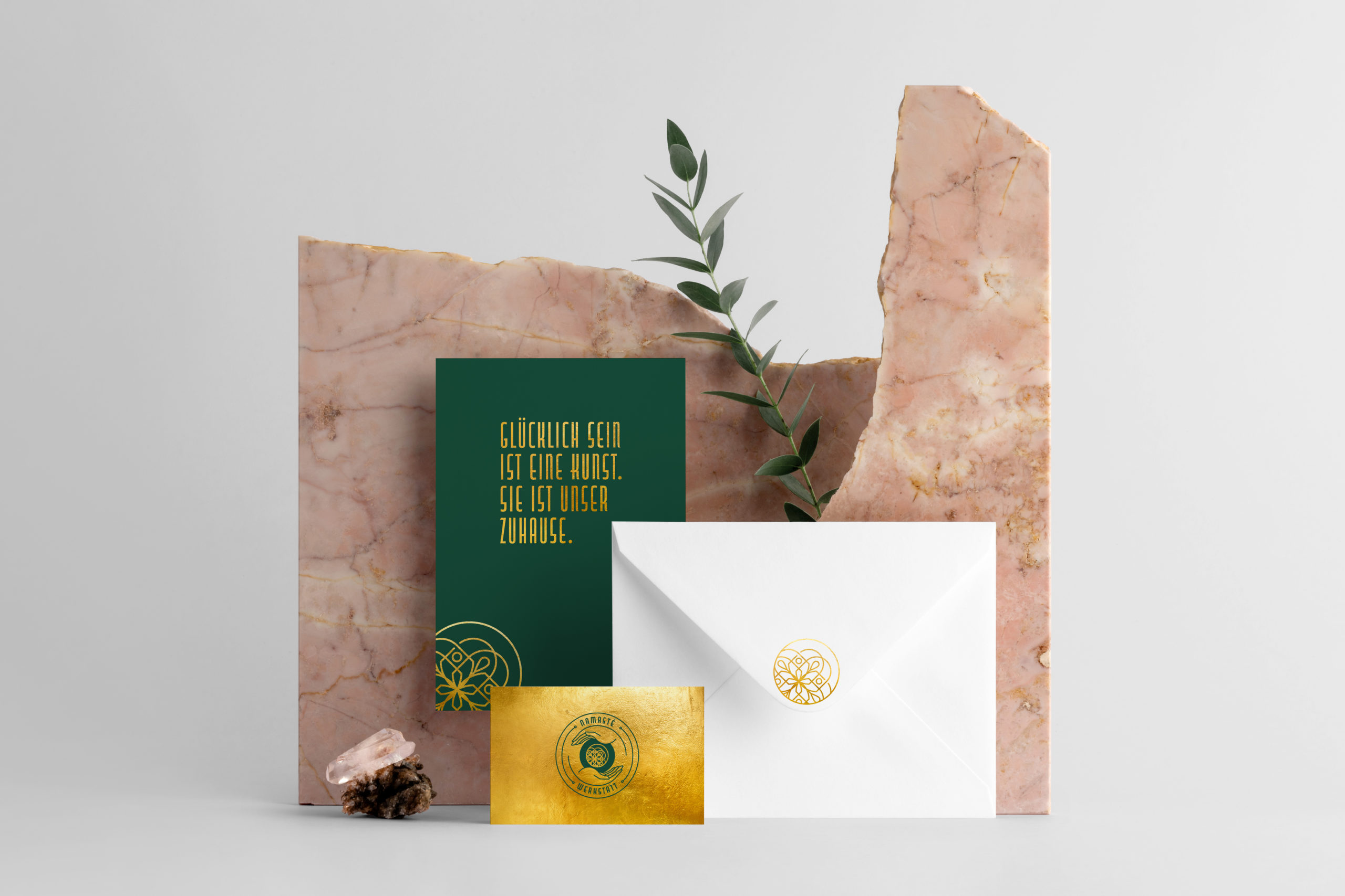 Real photo, stationery branding mockup template, isolated on lig