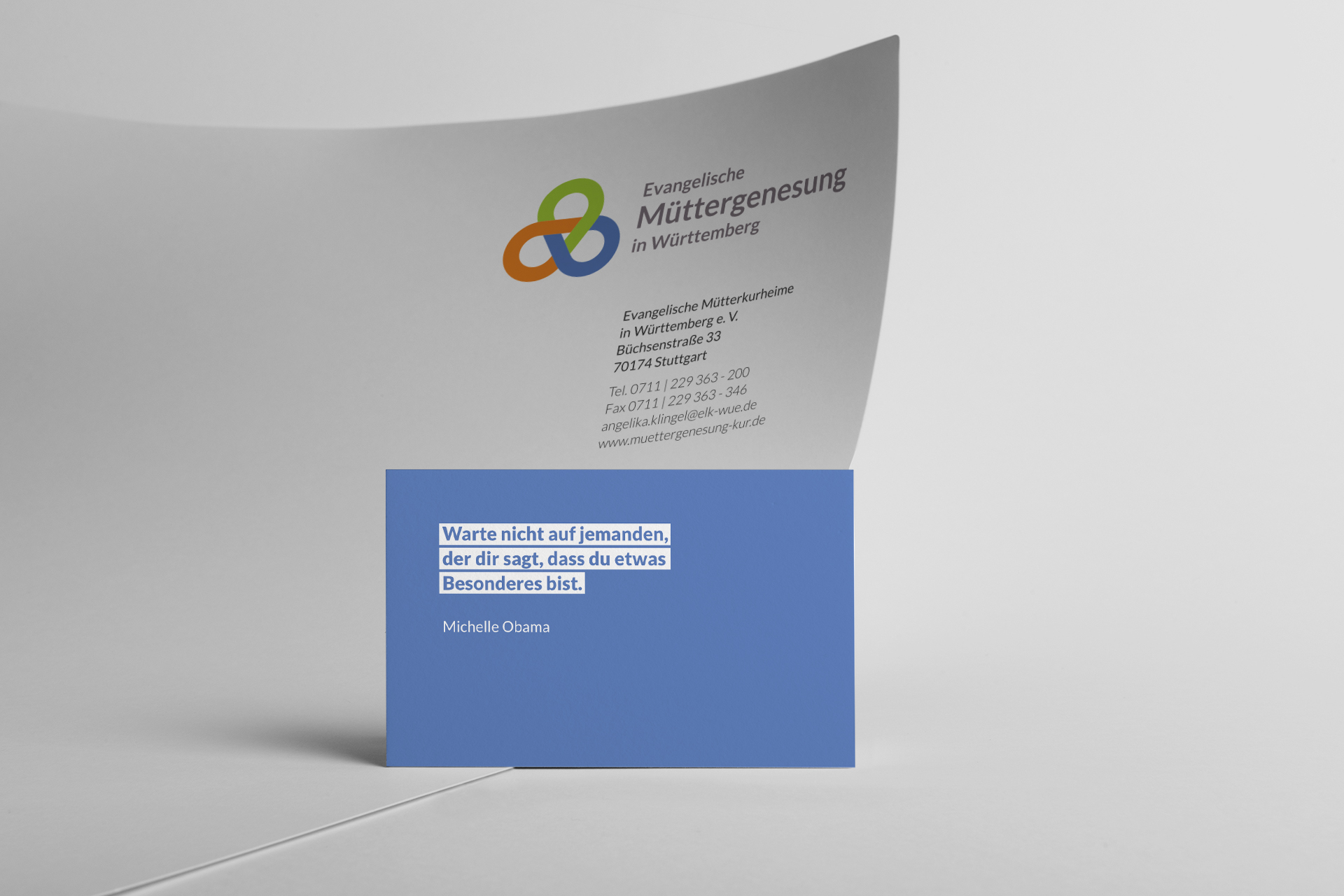 Real photo, business card and letterhead mockup templates, isola
